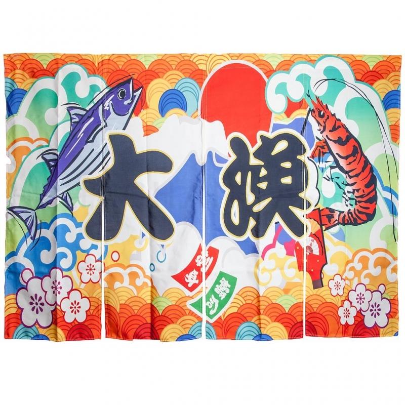 """Curtain """"Tairyo"""" 170x100 cm"""