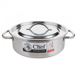 หม้อหุงต้ม Cheffy-Plus Ø28 x 10 ซม.