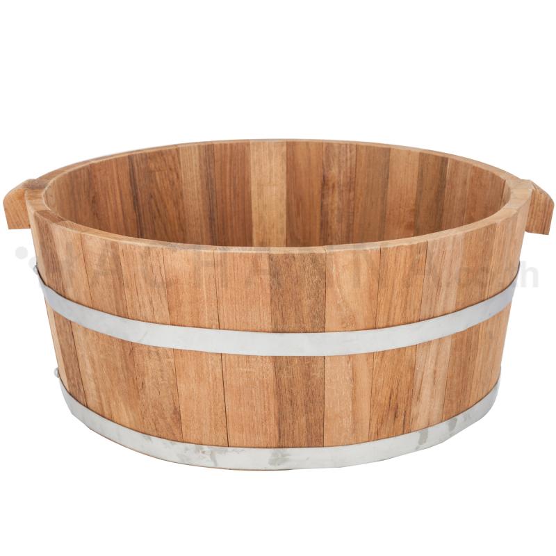 Circle Teak wood Barrel