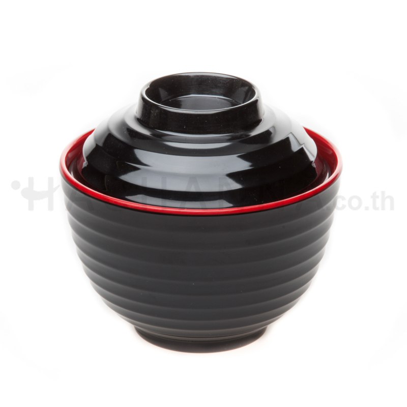 Black Red Tableware