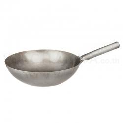 Steel Handle Chinese Wok 36.5 cm