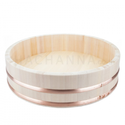 Wooden Rice Mixing Tub (Hangiri) 45 cm