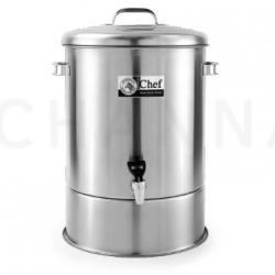 Stainless  Dispenser 40 cm (47 Liter) Chef