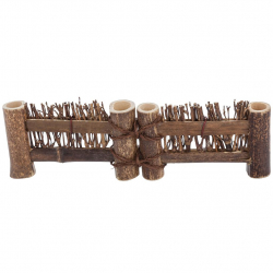 Small Decorate Wooden Fence