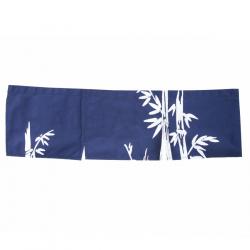 Bamboo Blue Curtain 850 x 250 mm.