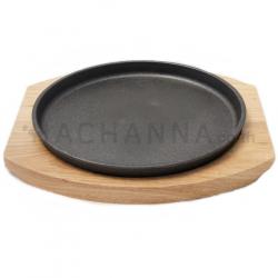 Cast Iron Steak Pan Round 24 cm