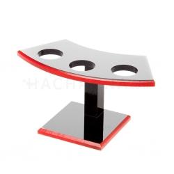 Black Plastic Hand Roll Stand (3 Serve)