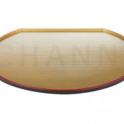 Half-moon Gold Tray 35.9x31.7 cm