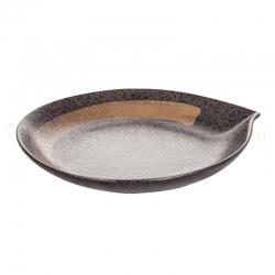 黒丸 丸皿大 10寸
