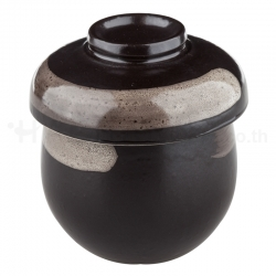 Kuromaru Chawan Mushi Cup Set 200 ml.