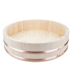 Wooden Rice Mixing Tub (Hangiri) 36 cm