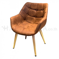 Brown loft nano armchair